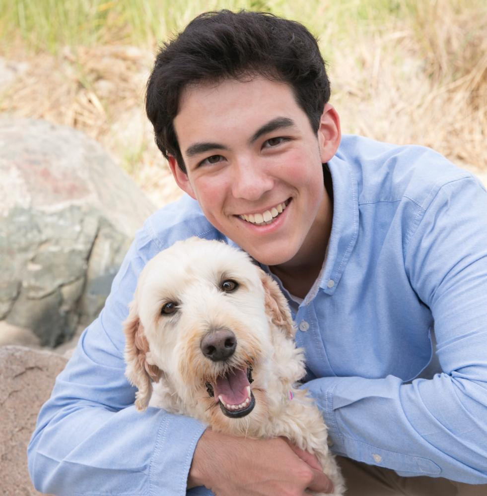 Pardo_Photo_Dog_Senior_Portrait_Sandy_Beach_Hingham_MA_Thayer_Academy